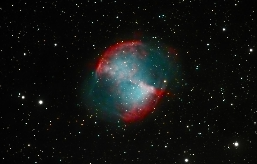 dumbbell nebula colors - photo #11